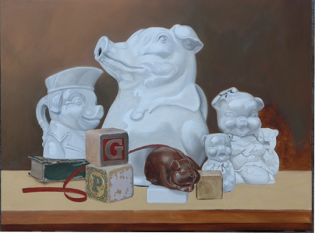 K henderson Porceline pigs work in progress
