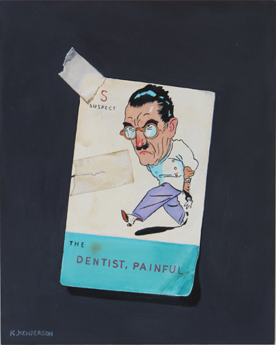 The Dentist  by K Henderson